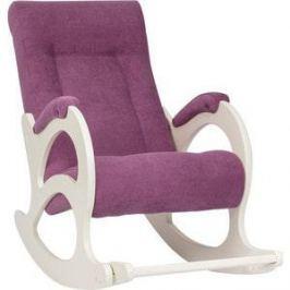 Кресло-качалка Мебель Импэкс МИ Модель 44 б/л дуб шампань, обивка Verona cyklam