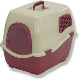 Био-туалет Marchioro BILL 1F коричнево-бежевый 50x40x42h см для кошек