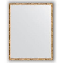 Зеркало в багетной раме поворотное Evoform Definite 67x87 см, золотой бамбук 24 мм (BY 0678)