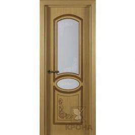 Дверь VERDA Муза остекленная 2000х800 шпон Дуб