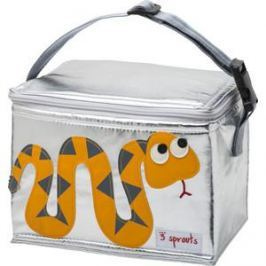 3 Sprouts Сумка для обеда Оранжевая змейка (Orange Snake SPR1005) (00004)