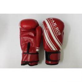 Перчатки боксерские Pak Rus 6 OZ. (красные. детские. искуственная кожа) PR-128888