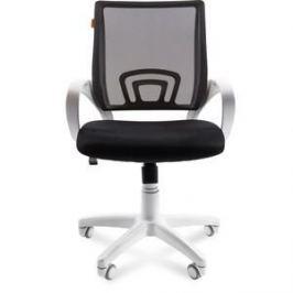 Офисное кресло Chairman 696 белый пластик TW-11/TW-01 черный