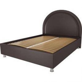 Кровать OrthoSleep Аляска шоколад ортопед. основание 180х200