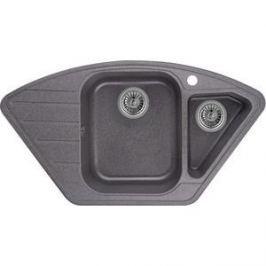 Мойка кухонная Granula 89x49 см графит (GR-9101 графит)