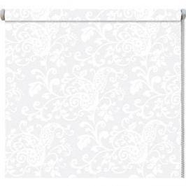 Рулонные шторы DDA Ажур (принт) Белый 68x170 см