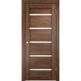 Дверь CASAPORTE Ливорно-6 остекленная 2000х600 экошпон Орех