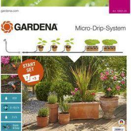 Комплект микрокапельного полива базовый Gardena (13001-20.000.00)