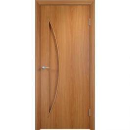Дверь VERDA Тип С-6(г) глухая 2000х450 МДФ финиш-пленка Миланский орех