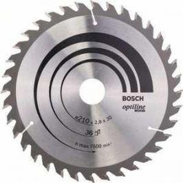 Диск пильный Bosch 210х30мм 36зубьев Optiline Eco (2.608.640.622)