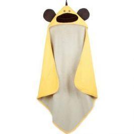 3 Sprouts Детское полотенце с капюшоном Жёлтая обезьянка (Yellow Monkey) (28629)