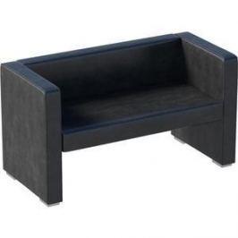 Диван Мебелик Бриф экокожа чёрный