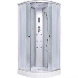 Душевая кабина Aqualux 90x90 белое стекло/заднее стекло матовое (AQ-4170GM-Wh)