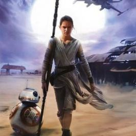 Фотообои Star Wars STAR WARS Rey (1,84х2,54 м)
