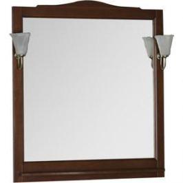 Зеркало Aquanet Амелия 90 орех, массив бука (175288)