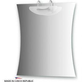 Зеркало Ellux Mode 70/60х80 см, со светильником 100 W (MOD-J1 0423)
