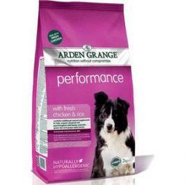 Сухой корм ARDEN GRANGE Adult Dog Performance Hypoallergenic with Fresh Chicken&Rice гипоалергенный с курицей и рисом для собак 2кг (AG609289)