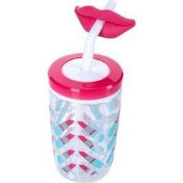 Детский стакан для воды с трубочкой 0.47 л Contigo contigo0522 розовый
