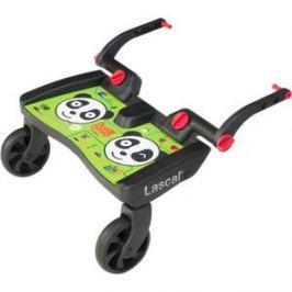 Подножка Lascal (Ласкал) для второго ребенка Buggy Board Maxi Panda City Green 2761