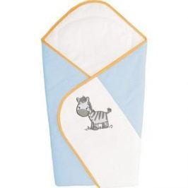 Одеяло-конверт Ceba Baby Zebra Blue вышивка W-810-002-160