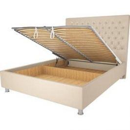 Кровать OrthoSleep Рио бисквит механизм и ящик 160х200