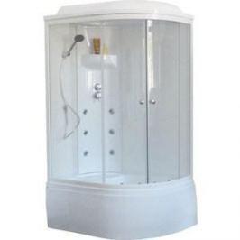 Душевая кабина Royal Bath 120х80х217 стекло белое/прозрачное левая (RB8120BK3-WT-L)