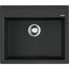Кухонная мойка Omoikiri Daisen 60-BL, 600х510, черный (4993622)