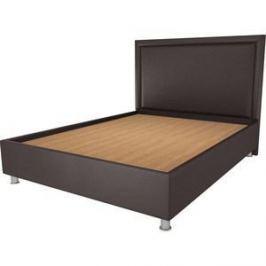 Кровать OrthoSleep Нью-Йорк шоколад жесткое основание 140х200
