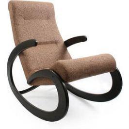 Кресло-качалка Мебель Импэкс МИ Модель 1 венге, обивка Malta 17