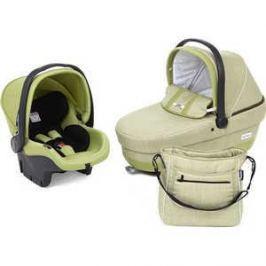 Набор для путешествий Peg-Perego люлька Navetta XL, автокресло Primo Viaggio Tri-Fix, сумка Borsa Green tea (зеленый) 2015