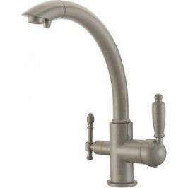 Смеситель для кухни ZorG GraniT Clean water (ZR 314 YF-33 серый беж)