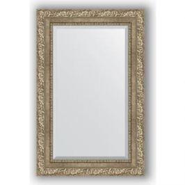 Зеркало с фацетом в багетной раме поворотное Evoform Exclusive 55x85 см, виньетка античное серебро 85 мм (BY 3409)