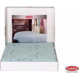 Покрывало Hobby home collection 1,5 сп, махровое, Sultan Минт
