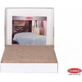 Покрывало Hobby home collection 2-х сп, махровое, Sultan Бежевый