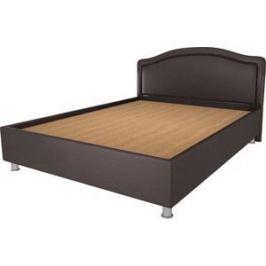 Кровать OrthoSleep Арно lite жесткое основание Сонтекс Умбер 160х200