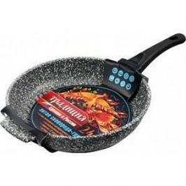 Сковорода-гриль d 24 см со съемной ручкой Традиция Мрамор (ТМ7245)