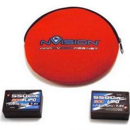 Аккумулятор nVision Saddle Pack Li-Po 7.4В 2S 90C 5500мАч