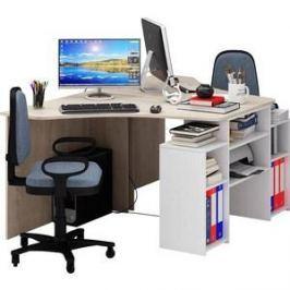 Стол Мастер Корнет-3 (дуб сонома-белый) МСТ-СТК-03-ДС-БТ-16