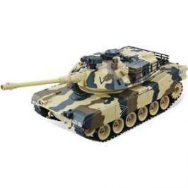 Радиоуправляемый танк HouseHold M1A2 Abrams Yellow Edition масштаб 1:20 40Mhz