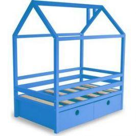 Кровать Anderson Дрима BOX голубая 80x190