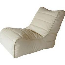 Бескаркасное кресло Папа Пуф Soft lounger beige