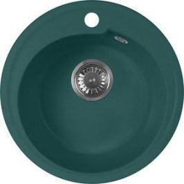 Кухонная мойка AquaGranitEx M-45 440х440 зеленый (M-45 (305))