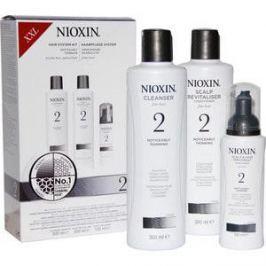 NIOXIN Набор XXL (Система 2) 300мл+300мл+100мл Шампунь, кондиционер и маска