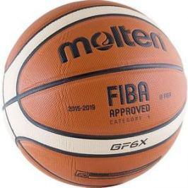 Мяч баскетбольный Molten BGF6X-RFB р.6 FIBA Appr