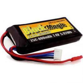 Аккумулятор Black Magic Li-Po 7.4В 2S 25C 800мАч