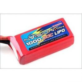 Аккумулятор nVision Li-Po 11.1В 3S 30C 1000мАч