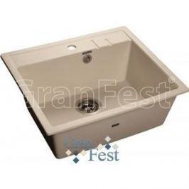 Мойка кухонная GranFest гранит 565x510 (Gf-Q560 белая)