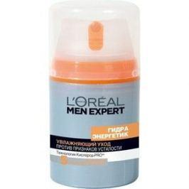 L'OREAL Men Expert Уход для лица увлажняющий Гидра энергетик против пяти признаков усталости кожи 50мл