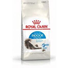 Сухой корм Royal Canin Indoor Long Hair 35 для длинношерстных кошек живущих в закрытом помещении 10кг (492100)