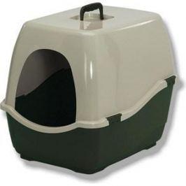 Био-туалет Marchioro BILL 2S зелено-бежевый 57x45x48h см для кошек